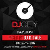 Dj D-Tale - DJcity Podcast (2014-02)