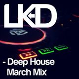 Deep house mix - (recorded in March 2014)