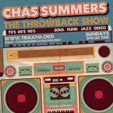 Trax FM (Sunday 09-08-2015) The Throwback Show with Chas Summers