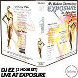 DJ EZ - [2 Hr set] - Live at Gass Club, Ayia Napa - Exposure Vol. 10