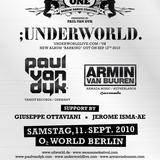 Underworld - Live @ We Are One, O2 World, Berlin (11-09-2010)