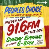 The Peoples Choice On Phever 91.6 FM Dublin Ireland.
