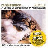 Nigel Dawson - Renaissance A Decade Of Dance (Muzik Mag)