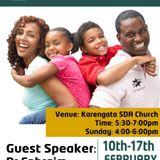 Where are the Godly Men? Pr Ephraim Mutoya (Family&Marriage Wk)