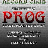 Glossop Record Club - PROG (March 2016)