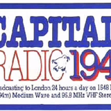 Peter Young Breakfast Show into Tony Myatt on Capital Radio in 1982