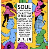 Soul Connoisseurs Collective 8th March 2015 - Del Robinson