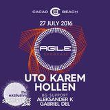 Uto Karem - Live @ Cacao Beach 27.07.2016