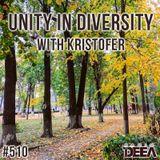 Kristofer - Unity in Diversity 510 @ Radio DEEA (20-10-2018)
