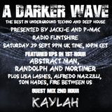 #189 A Darker Wave 29-09-2018 (guest 2nd hr Kaylah, EPs 1st hr Abstract Man, Randolph & Mortimer)