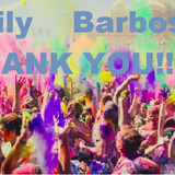 Thanks Family Barbos´s