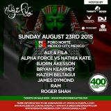 Hazem Beltagui - Future Sound of Egypt 400 ( Mexico ) 2015-08-23