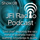 #08 JFI Radio 'LIVE'episode