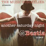 """THE MUSIC SOMMELIER -presents-  """"ANOTHER SATURDAY NIGHT @ BESTIA , BUDAPEST"""""""