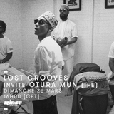 Lost Grooves Radio Show #27 Rinse Fr (special guest Otura Mun / IFE)
