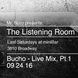 (Trip Hop/Chillout/Lounge) Live @ The Listening Room, Pt. 1 (09.24.16)