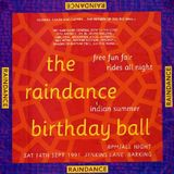 Carl Cox at Raindance 14/9/91 the Birthday Ball Jenkins lane NO MC