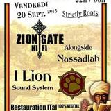 I-Lion sound+Zion Gate (pt1)