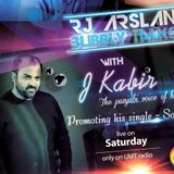 Exclusive LIVE interview of J KABIR with Rj Arslan On Umt Radio