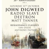 John Digweed - Renaissance 20th Anniversary Part2 Mini Mix