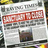 Brockie Slammin Vinyl 'Sanctuary to Close' 10th July 2004