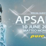 [guest mix] Apsara - Loose by Matteo Monero on Pure.fm (June 2012)