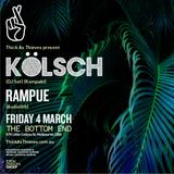 Kolsch - live at Bottom End (Melbourne) - 04-Mar-2016