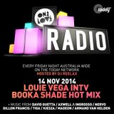 ONELOVE Radio 14 November - Louie Vega Interview & Booka Shade Guest Mix