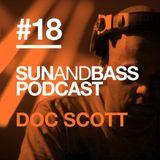 Sun And Bass Podcast # 18 - Doc Scott