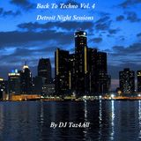 Back To Techno Vol. 4 - Detroit Night Sessions