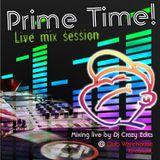 Dj Crazy Edits Live @ Club Warehouse Rincon, PR. Prime Time Live Mix Session