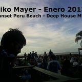 Niko Mayer -  Enero 013 @ Peru Beach - Deep House