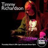 Timmy Richardson TOT NYCHOUSERADIO.COM 2018 EP3