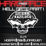 [16.12.16]Kaziloco - Hardface present's   Hell Gate Part 1 @ Mikroport Club ,Krefeld