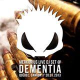Merkurius live @ Dementia