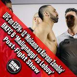 SBN MMA Post-Fight Show: BKFC 6 & UFC Greenville 'Malignaggi vs Lobov' & 'Moicano vs Korean Zombie'