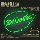 Founding Father B2B Yaz - Live at DeMentha Does SF - 2016 02 27