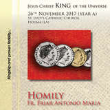 Kingship and a proven fidelity.