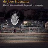 Nicolás Binder y Dauno Tótoro, autor y editor de libro sobre José Huenante, desaparecido en 2005