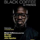 Black Coffee - live at We Dance Again pres. by Black Coffe, MacLoud Studio - 14 oct 2015
