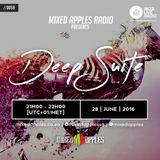 Mixed Apples Radio Show 059 - Ibiza Live Radio - mixed by Deep Suite (Pretoria, ZA)