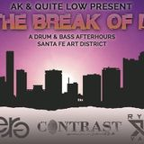 E.R.G. 's set @ AK & Quite Low Present // TILL THE BREAK OF DAWN