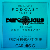March 20-2018 (ENSASTIGUE B2B DJ CARLOS G) - M.M.W - P.J.R 10 Years - Show Case (Part 2)