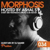 Morphosis 034 With Ashal S And Dj Samer (18-10-2017)