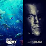 Episode #183 - Jason Bourne and Finding Dory Reviewed