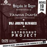 Brigada junto a  Vanessa Iriarte, Dvj Joseph Olivares y Astronaut Project