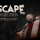 Eric Prydz - Live @ Escape Psycho Circus (San Bernardino) - 28.10.2017