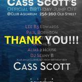Cass Scott in the mix.... Cass Scott's Birthday Jump-Off 05.09.14 @ Club Aquarium. Old Street London