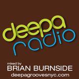 deepa RADIO 87 mixed by BRIAN BURNSIDE
