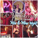 Speakeasy Electro Swing Atlanta's Fire and Flow Night - September 2015